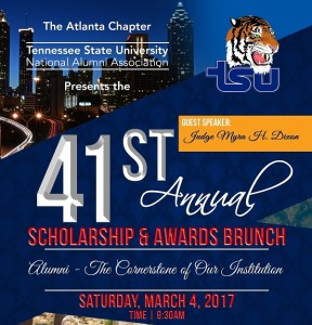 41st Annual Scholarship & Awards Brunch @ Atlanta Airport Marriott Gateway | Atlanta | Georgia | United States