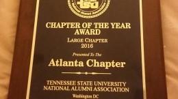 Chapter Award 2016