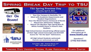 Campus Tour - Spring 2017 @ Tennessee State University  | Nashville | Tennessee | United States