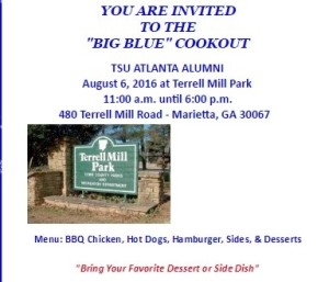 Big Blue CookOut 2016 @ Terrell Mill Park | Marietta | Georgia | United States