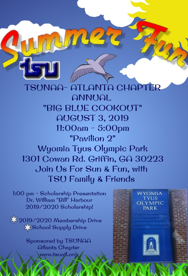 Big Blue Cook Out 2019 @ Wyomia Tyus Olympic Park - Pavilion 2
