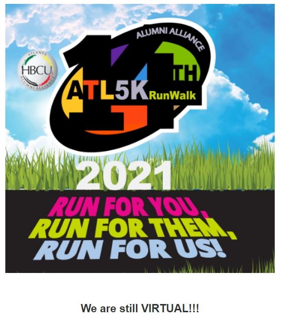 5K Run Walk Flyer