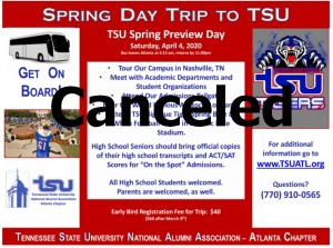 Campus Tour - Spring 2020 @ Tennessee State University | Nashville | Tennessee | United States
