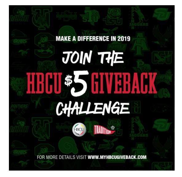 HBCU GIVE Back Challenge